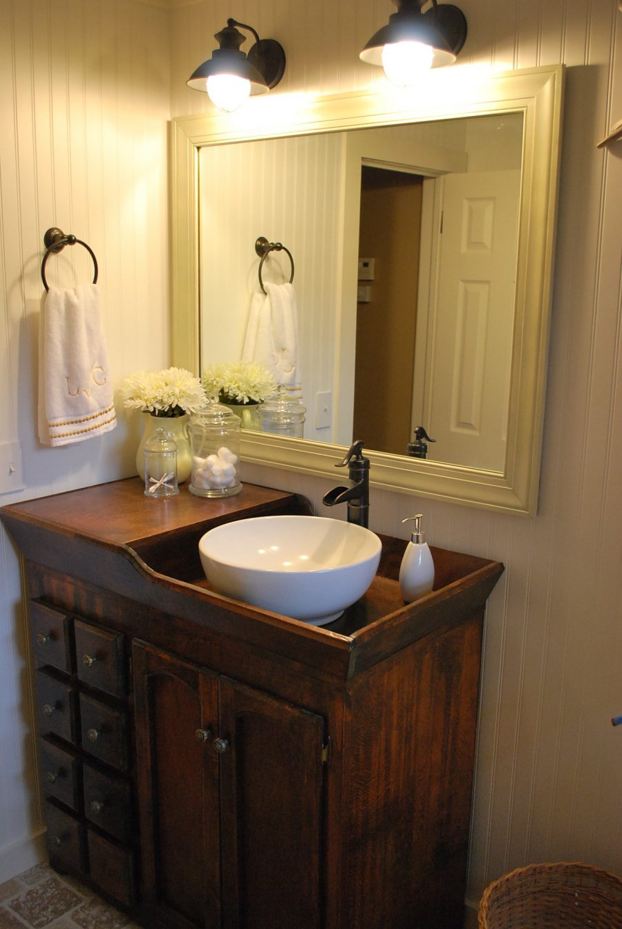 antique sinks for man cave.