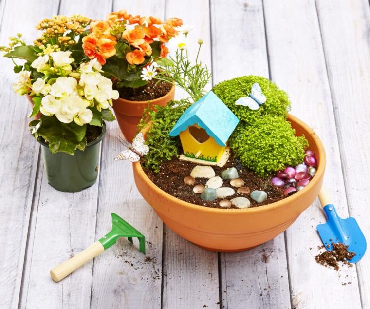 diy miniature fairy garden ideas at home