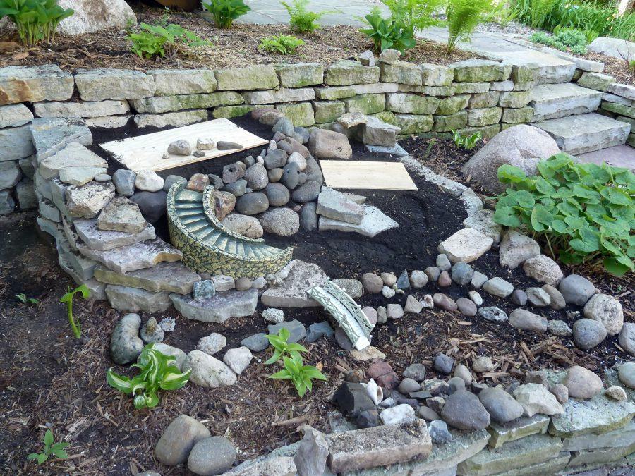 diy miniature fairy garden ideas gravel