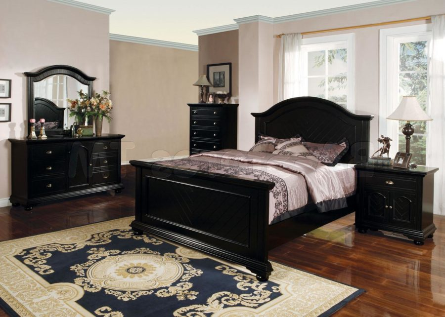 Black Bedroom Furniture Sets.