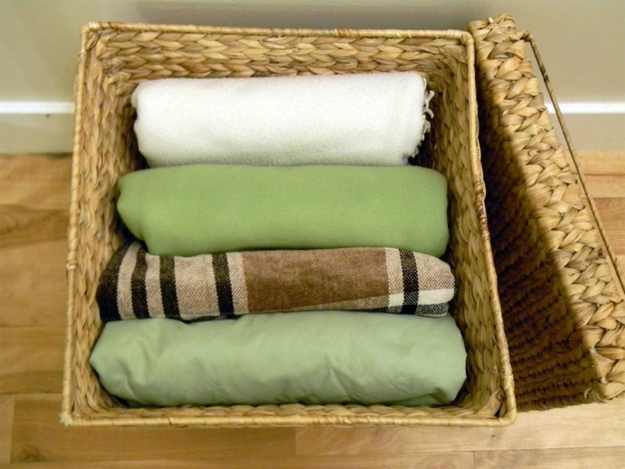 Blanket Storage For Small Living Room