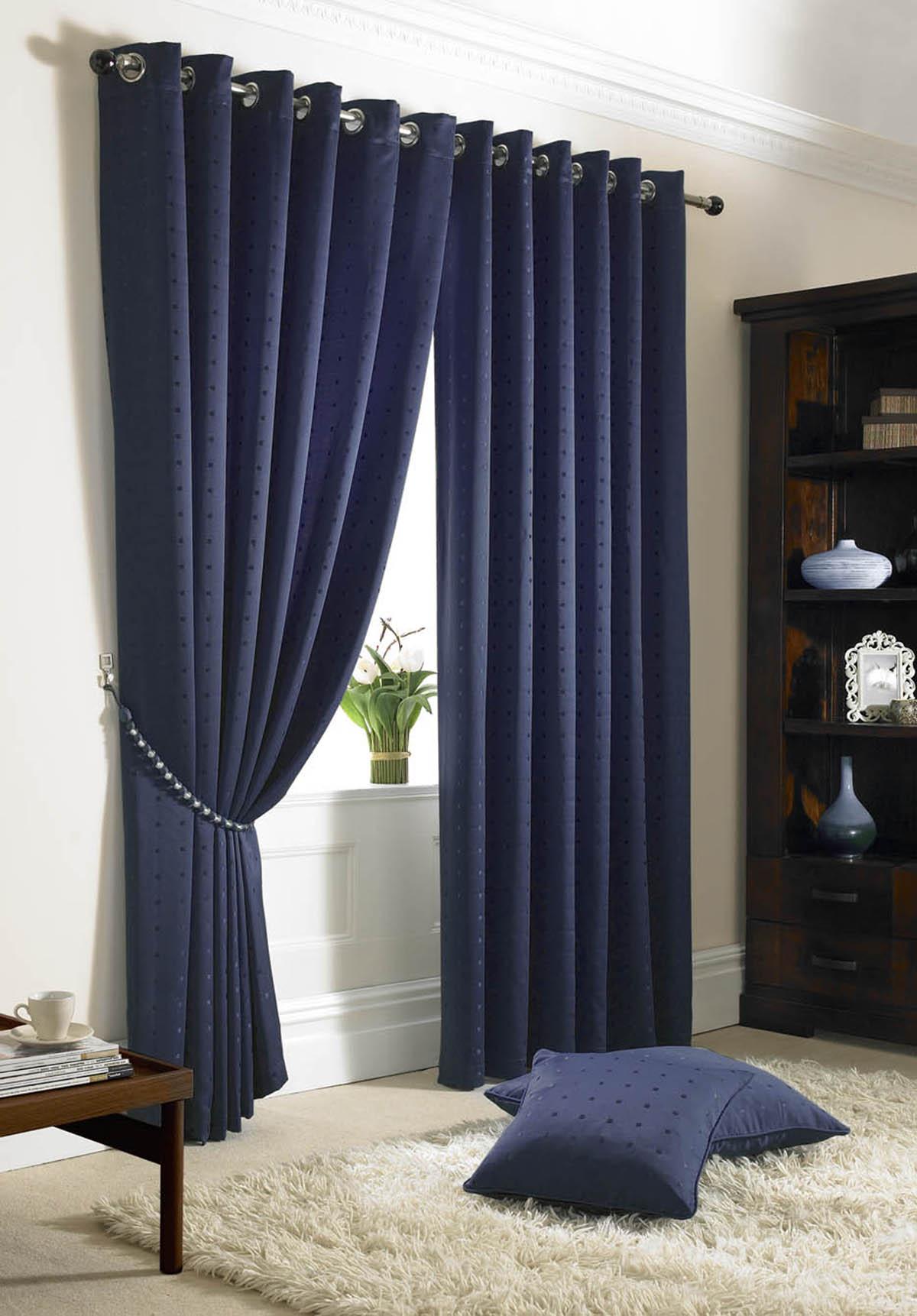 Blue Bedroom Curtains Ideas.