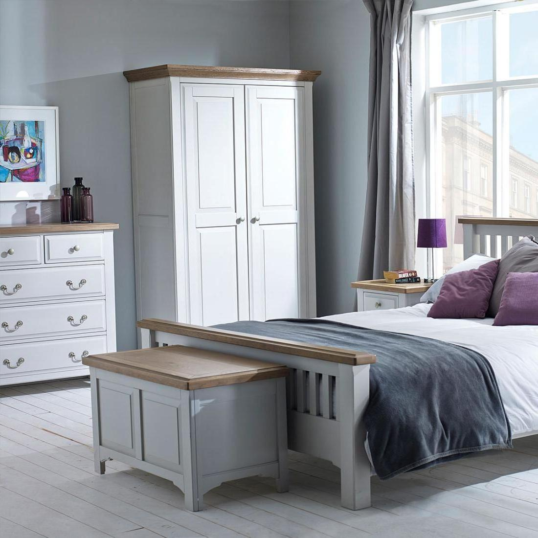Buxton Light Grey Painted Bedroom Design