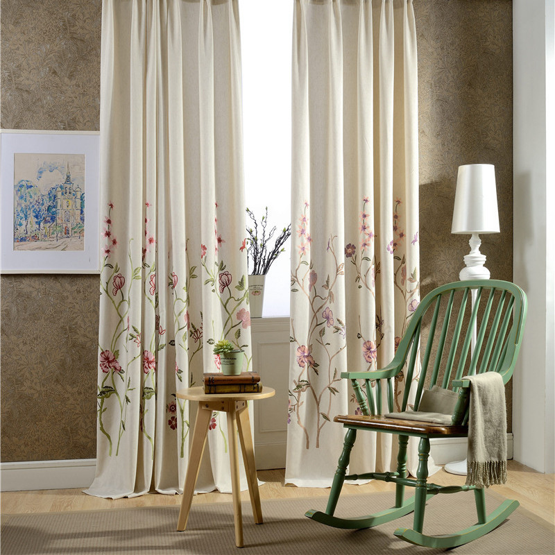 French Bedroom Curtains.