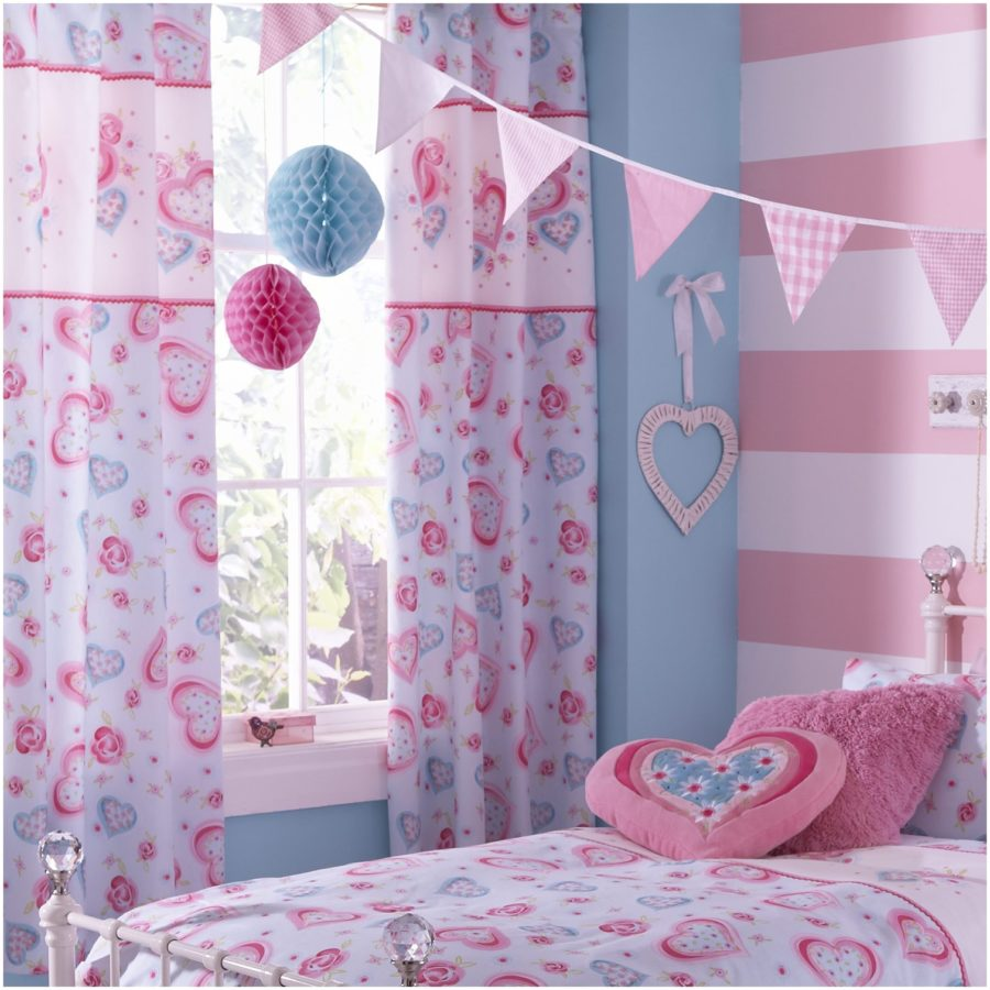 Girl Bedroom Curtains.