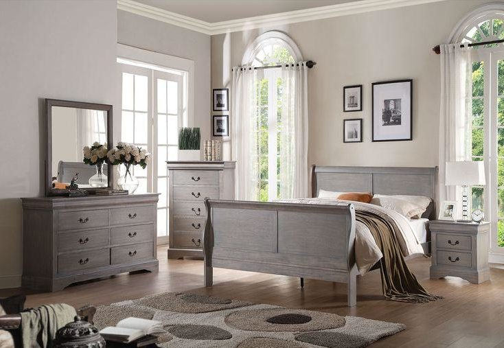 Gray Bedroom Furniture.
