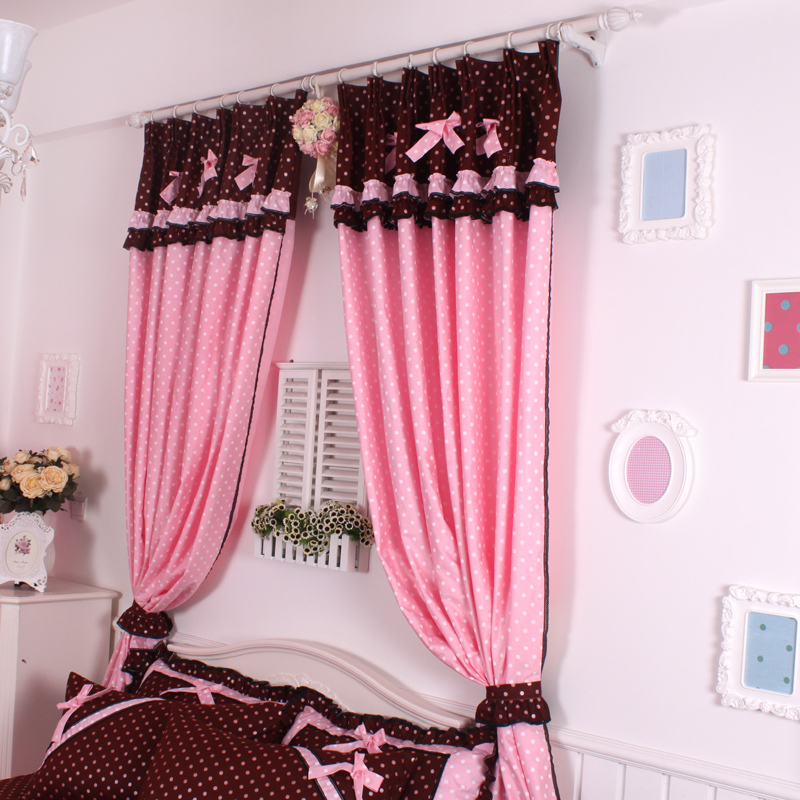 Hot Pink Bedroom Curtains.