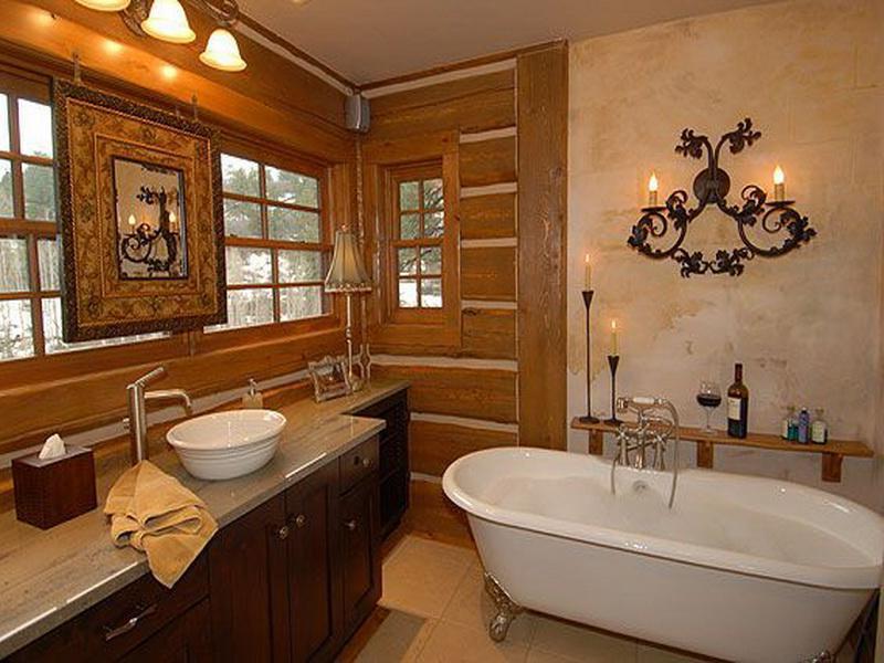 Minimalist Rustic Bathroom Design Vanities