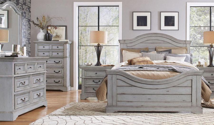 Pine Grey Bedroom Furniture
