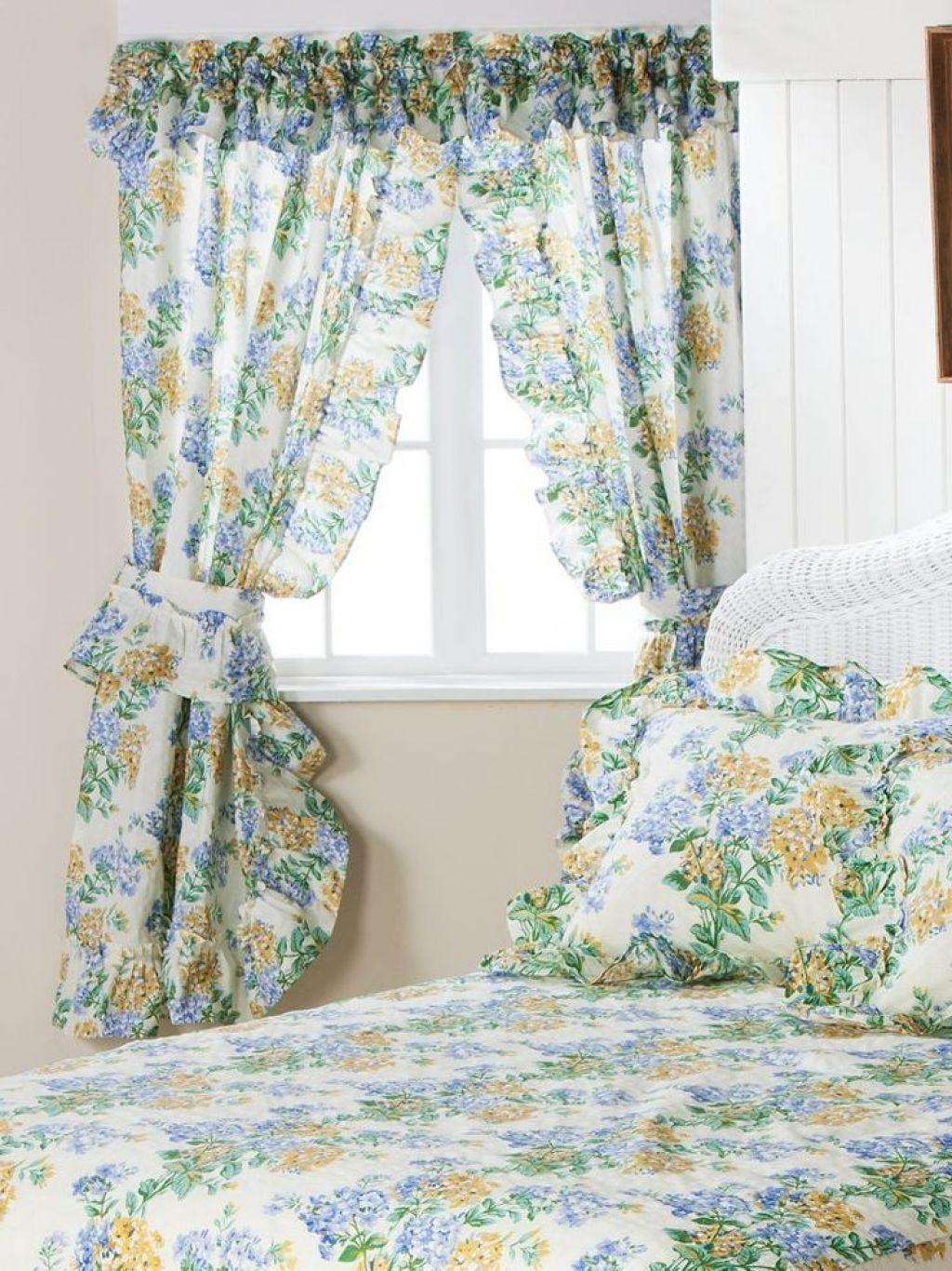 Priscilla Curtains Bedroom.