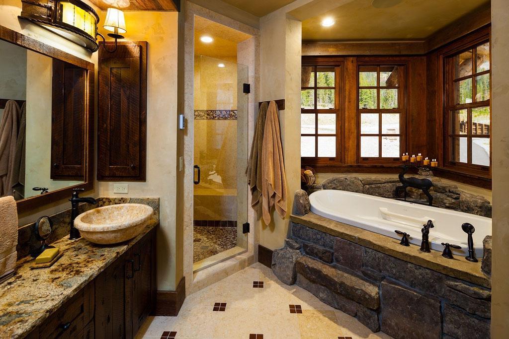 Rustic Bathroom Countertops