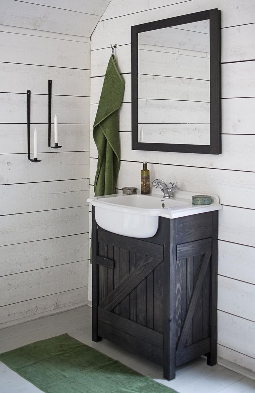 Rustic Bathroom Mirror Ideas