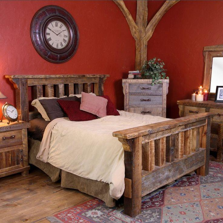 Rustic Bedroom Furniture.