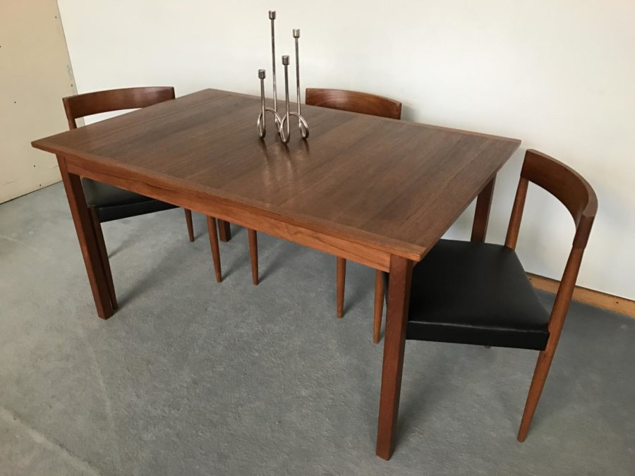 Scandinavian Teak Dining Table