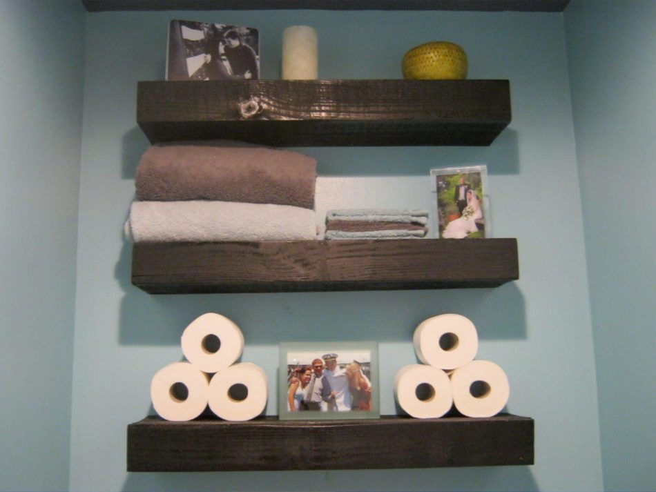 bathroom shelving ideas for towels