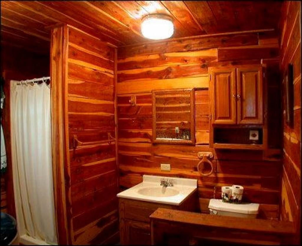 cheap rustic bathroom decor