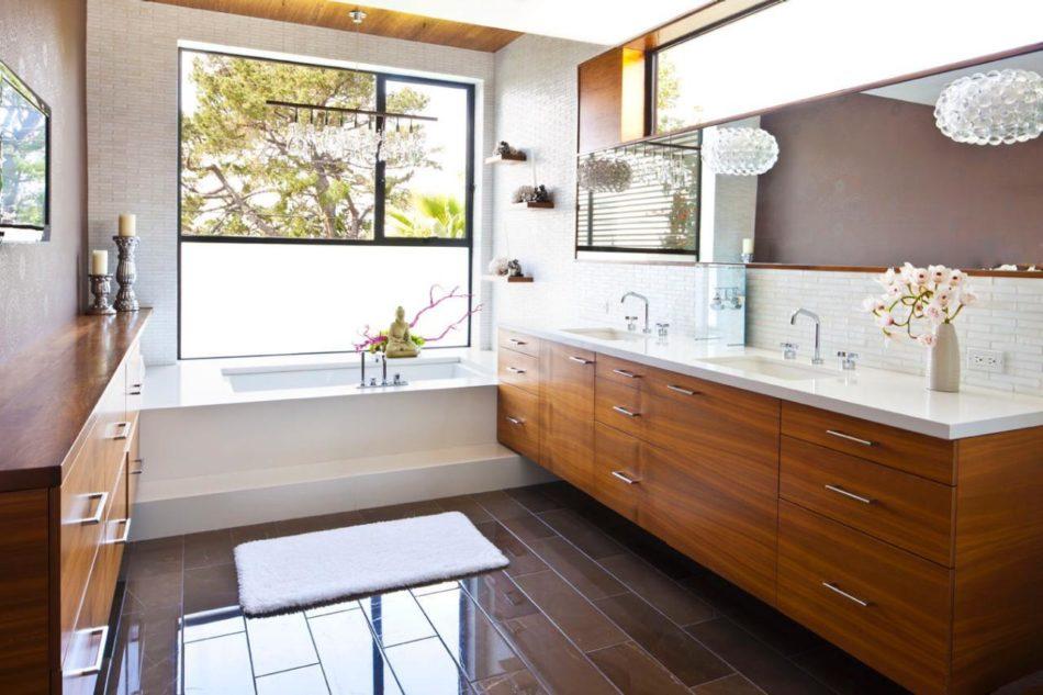 commercial rustic bathroom designs