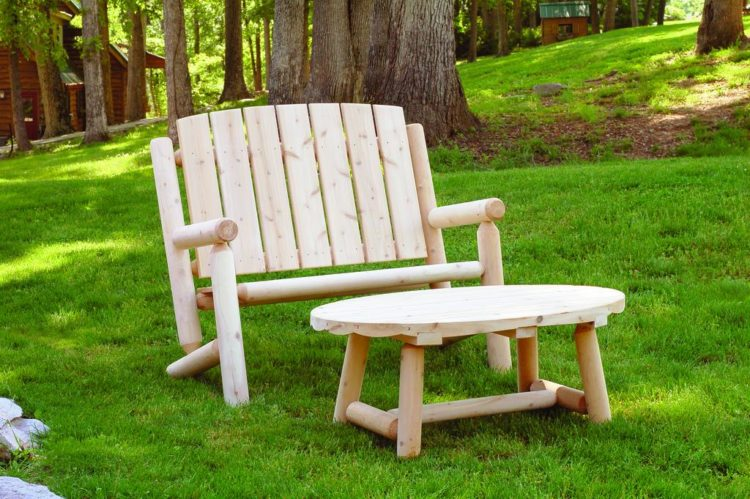 contemporary rustic outdoor furniture