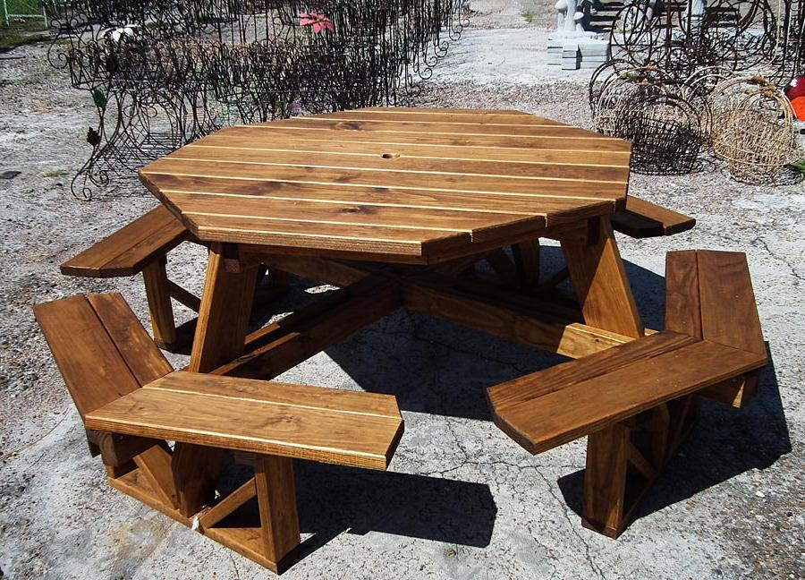 outdoor furniture rustic style