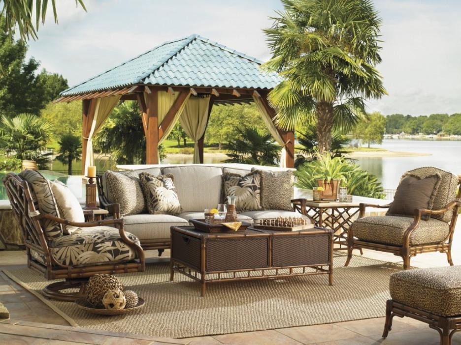 rustic outdoor patio furniture