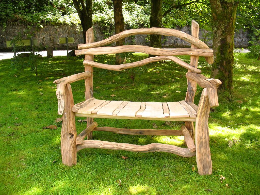 rustic wood diy furniture