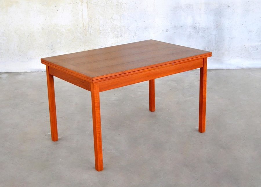 teak small dining table