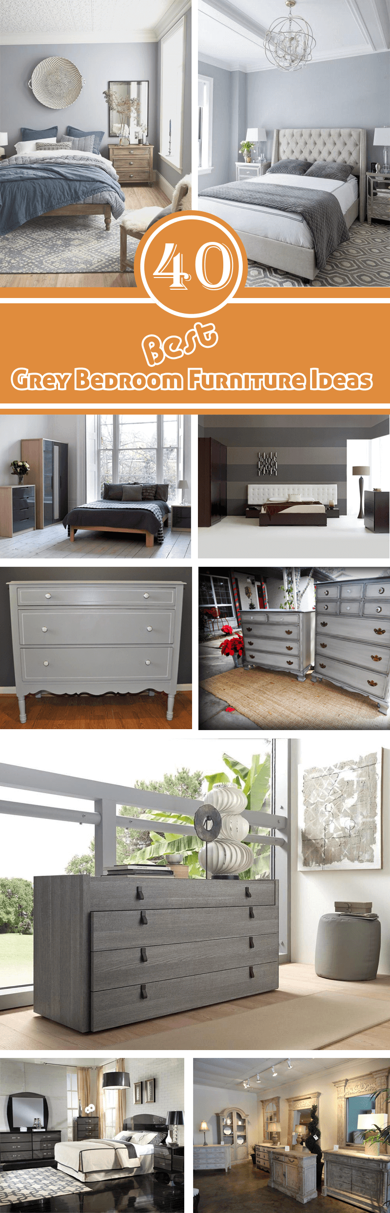 Best Grey Bedroom Furniture Ideas