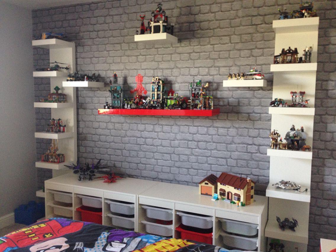 Brilliant Lego Loft Bed With Storage