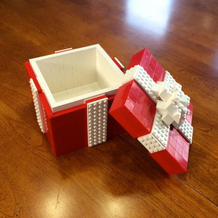 Lego Gift Packaging Idea