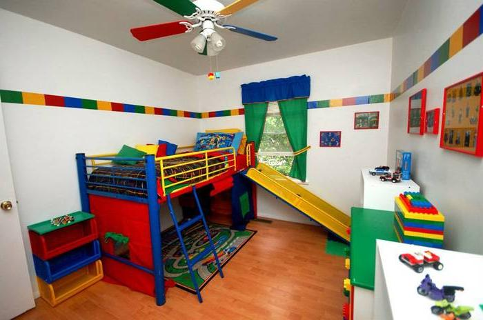 Lego Style Bunk Bed