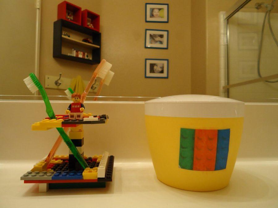 Pretty Lego Kids Bathroom Design
