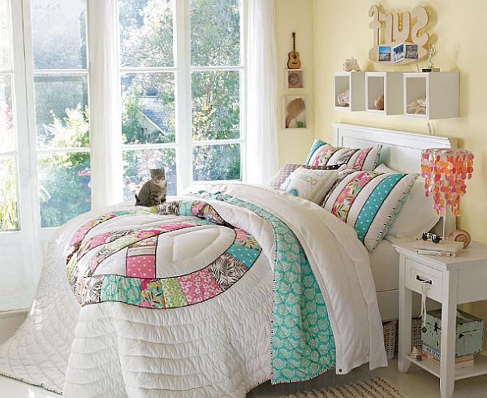 Unique bedroom design for teenage girls