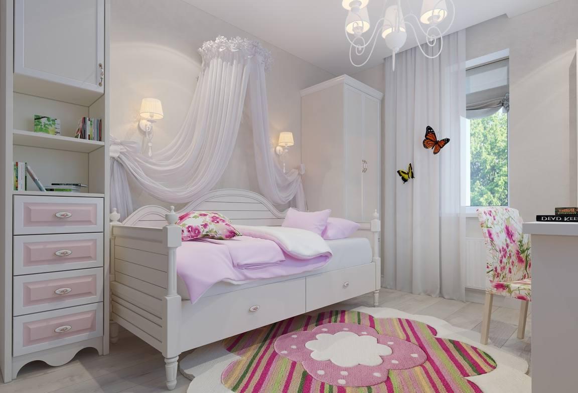 White suite for girls bedroom