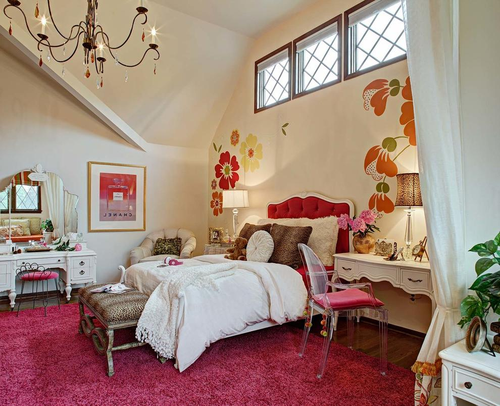 colorful room ideas for teen girls