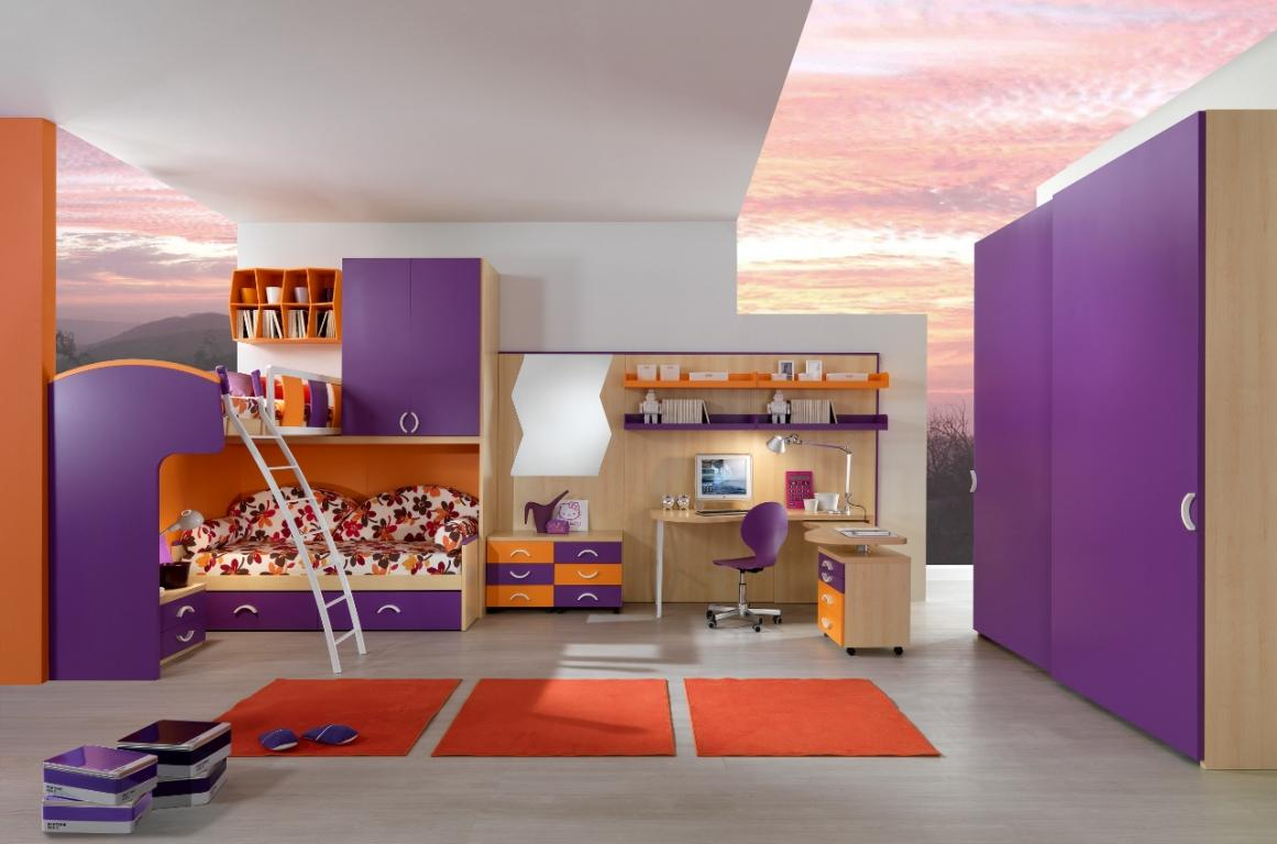 cool bunk beds ideas for teenage girls