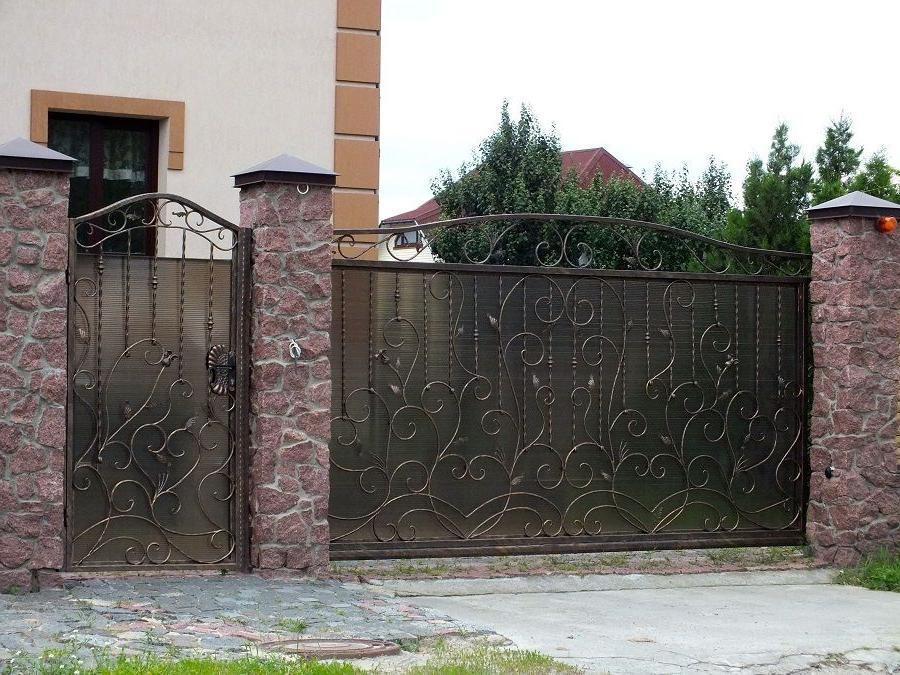 decorative forged gates