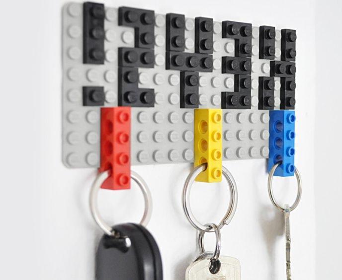 lego keyholder for the corridor