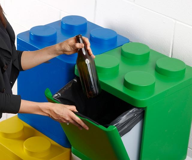 lego recycling bins for home