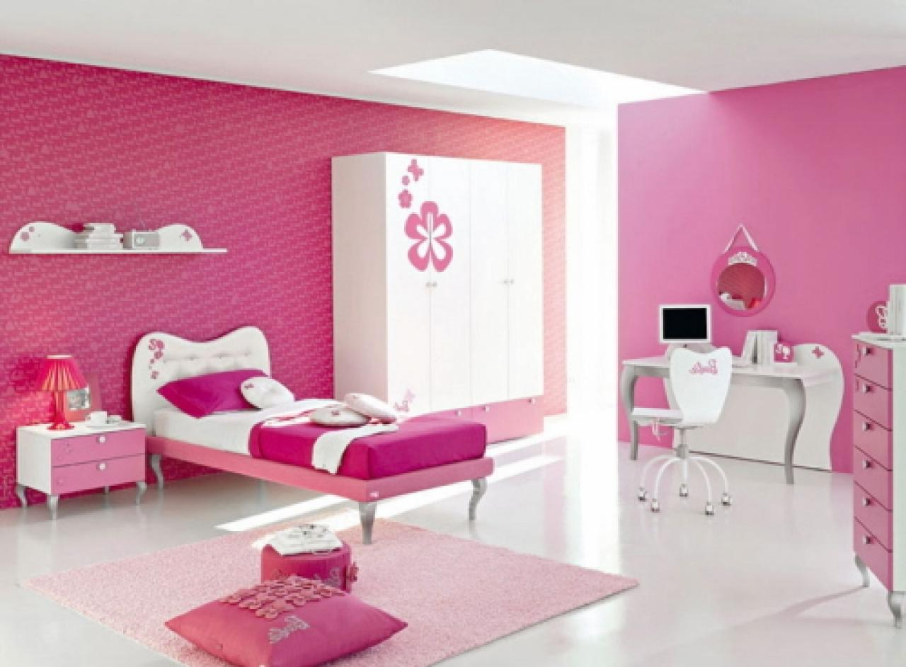 pink room ideas for teen girls