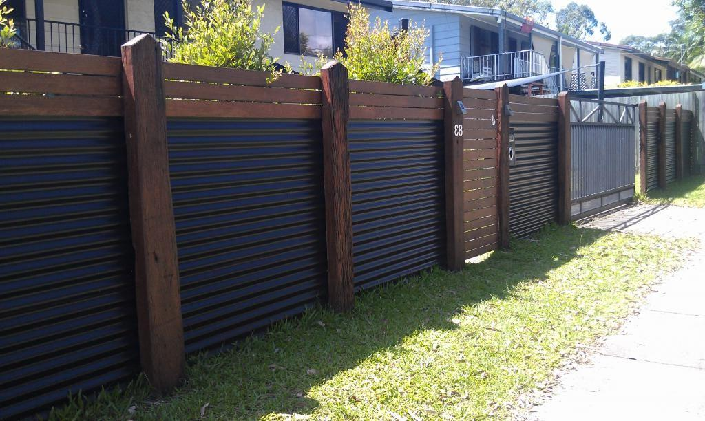 profiled sheet for the installation of fence