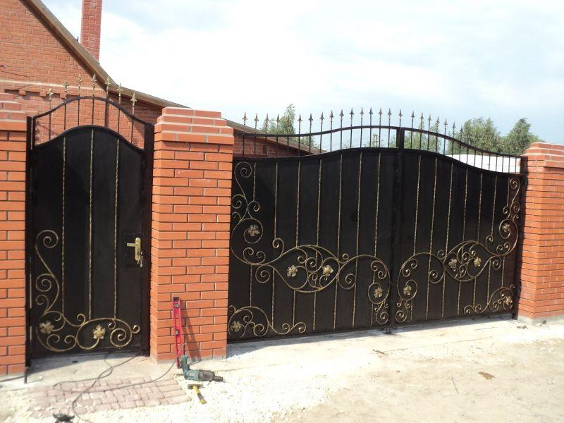 quality forged gates