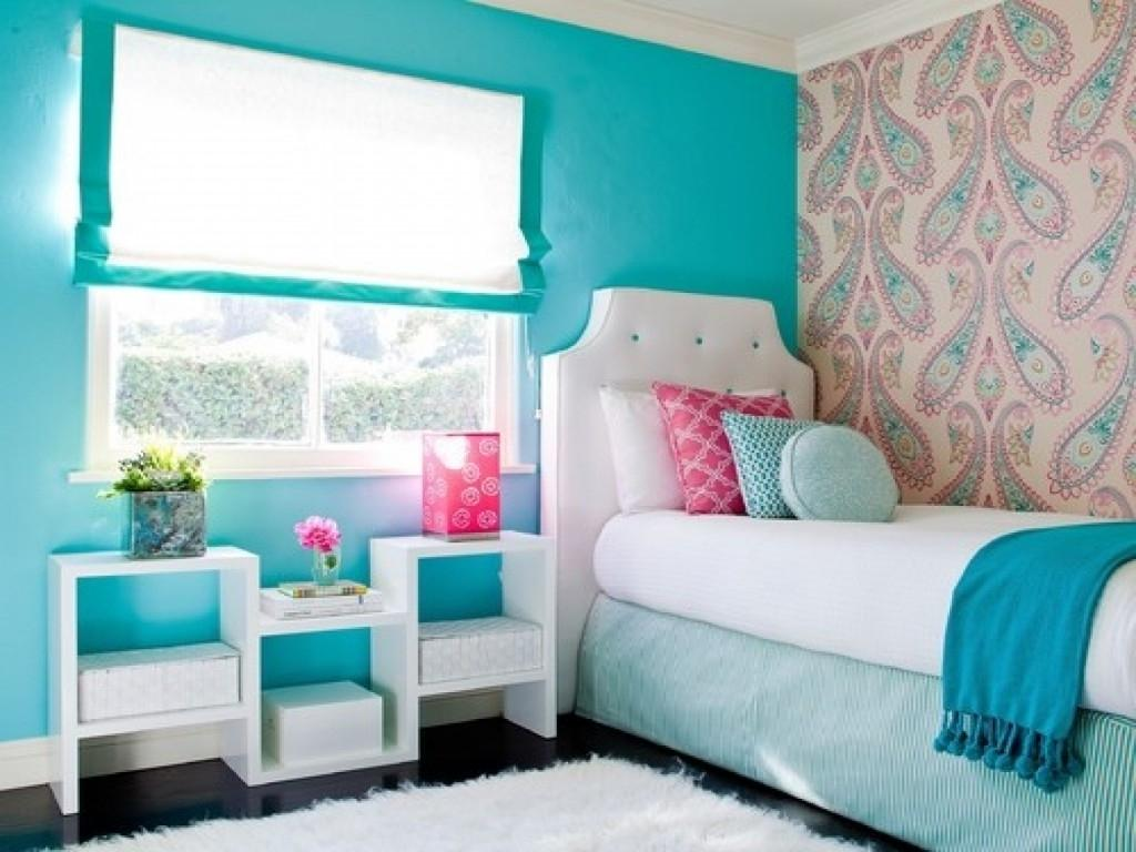 teal and pink bedroom ideas for teenage girls