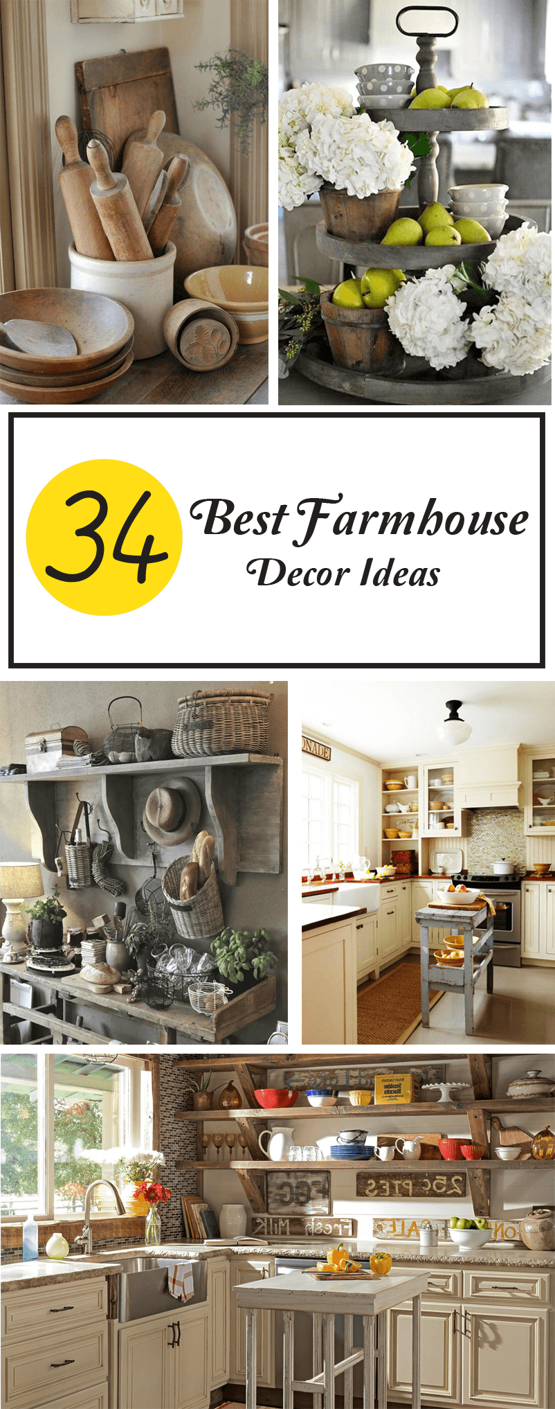 Best Farmhouse Decor Ideas
