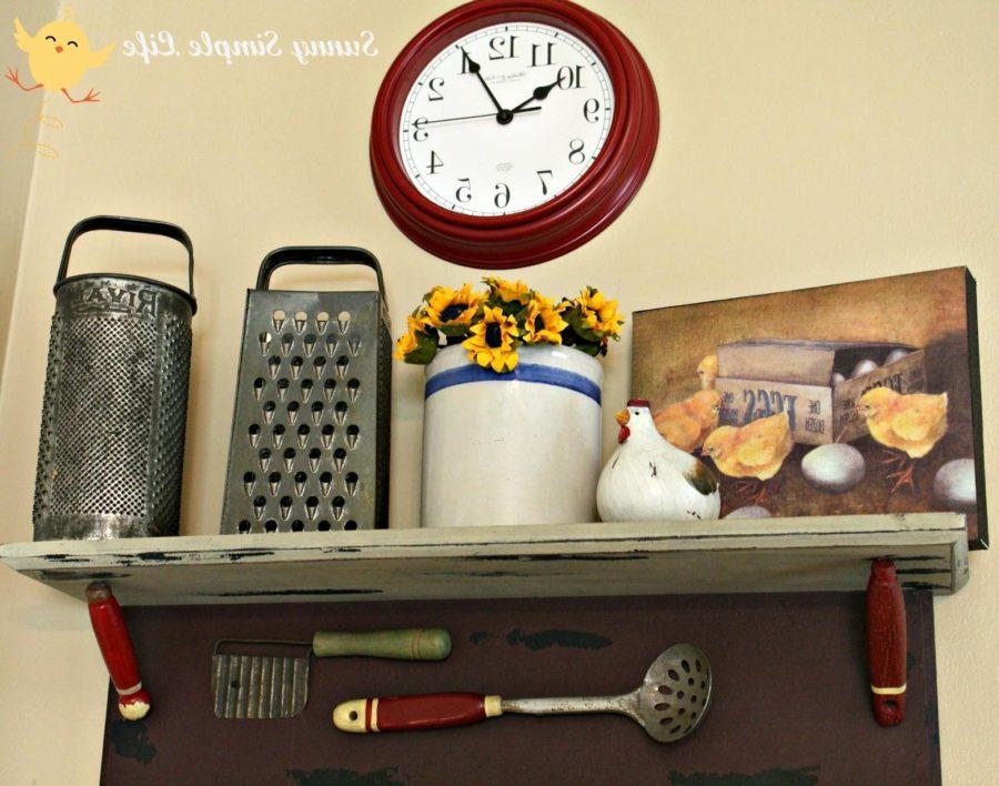 Farmhouse DIY Kitchen Storage Designs