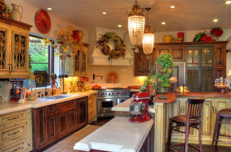French Style Farmhouse Kitchen Design