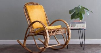 Rocking chair from the vine - indisputable classic