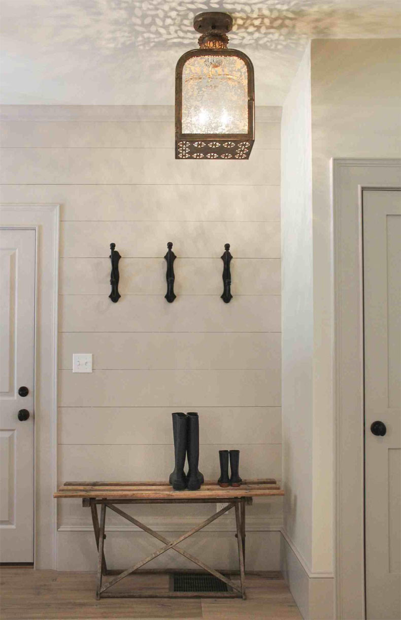 contemporary Farmhouse Foyer Lighting fixtures