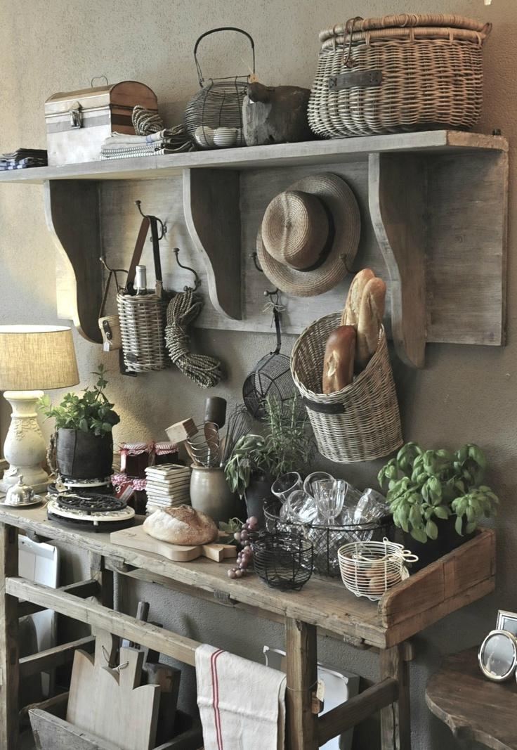 34 Great Farmhouse Kitchen Decor Ideas - InteriorSherpa on Farmhouse Rustic Kitchen Ideas  id=38043