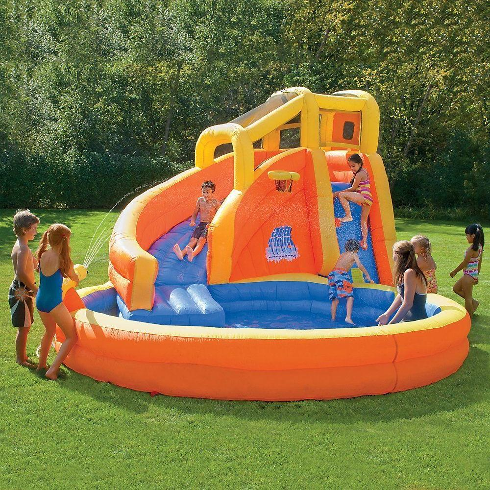 Inflatable pool for game center