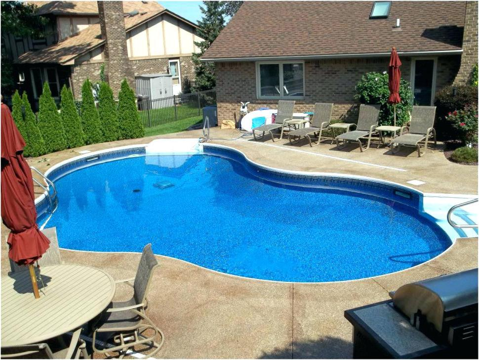cheap backyards with pools designs